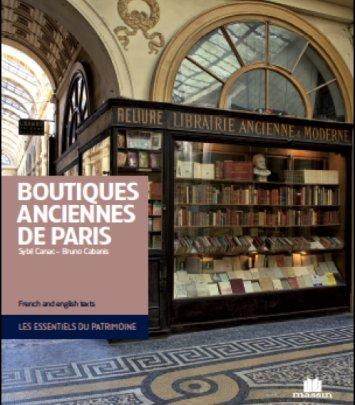 Boutiques anciennes de Paris