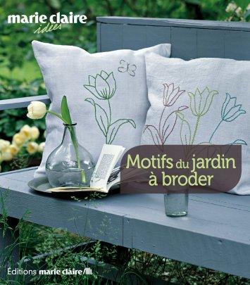 Motifs du jardin à broder