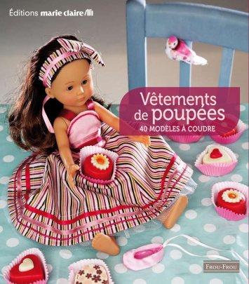 Vêtements de poupées à coudre