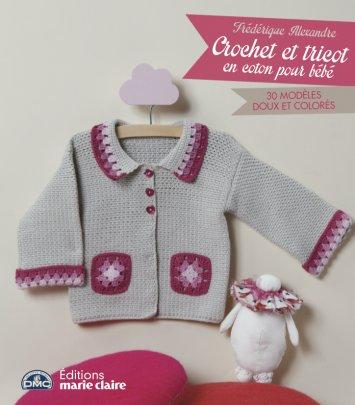 Crochet et tricot en coton pour bébé
