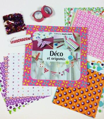 Coffret - Déco & Origami