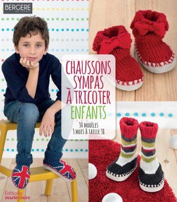Chaussons sympas à tricoter