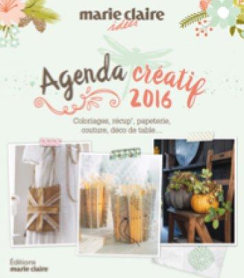 Agenda Marie Claire Idées 2016 - Fait maison au naturel