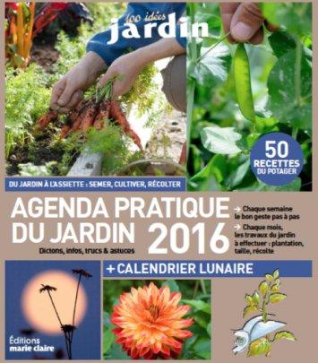 Agenda Jardin 2016 - 365 jours avec les fruits et légumes