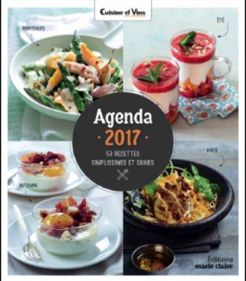 Agenda Cuisine 2017