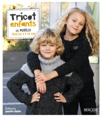 Tricot Enfants 2 à 16 ans