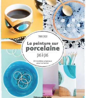 La peinture sur porcelaine: pas à pas