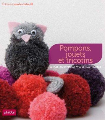 Pompons, jouets et tricotins